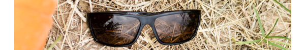 Bolt in Glossy Black Frame with Polarized Dark Yellow Lenses